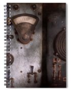 Fantasy - A Tribute To Steampunk Spiral Notebook