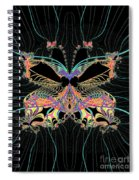 Fantasy Butterfly Spiral Notebook