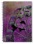 Fantasy Ferris-wheel Spiral Notebook