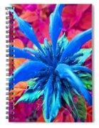 Fantasy Flower 1 Spiral Notebook