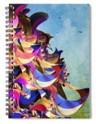 Fantasy Fun And Whimsical Spiral Notebook