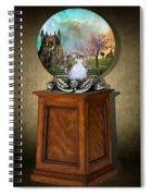 Fantasy Globe 2 Spiral Notebook