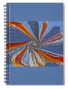 Fantasy In Blue Spiral Notebook