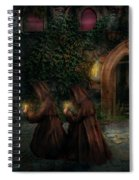 Fantasy - Into The Night Spiral Notebook