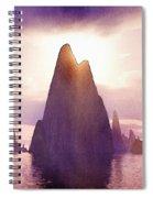 Fantasy Islands Spiral Notebook