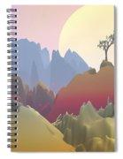 Fantasy Mountain Spiral Notebook