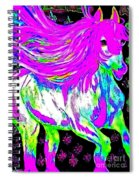 Fantasy Painted Dream Horse Spiral Notebook