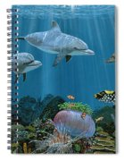 Fantasy Reef Re0020 Spiral Notebook