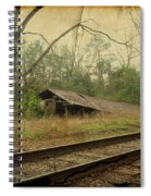 Far Side Of The Tracks Spiral Notebook