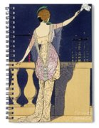 Farewell At Night Spiral Notebook