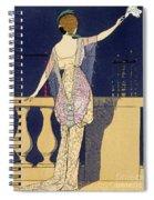 Farewell At Night Spiral Notebook