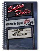 Farewell Boss Spiral Notebook