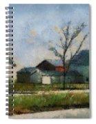 Farm 03 Photo Art Spiral Notebook