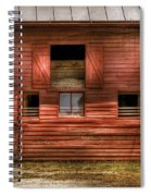 Farm - Barn - Visiting The Farm Spiral Notebook