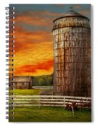 Farm - Barn - Welcome To The Farm  Spiral Notebook