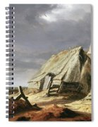 Farm Buildings In A Landscape, C.1625-28 Spiral Notebook