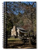 Farm Cabin Cades Cove Tennessee Spiral Notebook