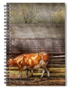 Farm - Cow - A Couple Of Cows Spiral Notebook