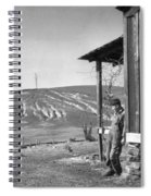 Farm Erosion, 1937 Spiral Notebook