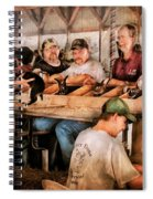 Farm - Farmer - By The Pound Spiral Notebook