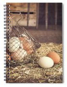 Farm Fresh Eggs Spiral Notebook