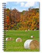 Farm Fresh Hay Spiral Notebook