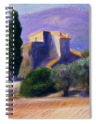 Farm House In Provence Spiral Notebook