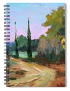 Farm In Provence Spiral Notebook