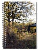 Farm Journal - Metal Storage Spiral Notebook