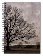 Farm Land Near Matson Mo Dsc00412 Spiral Notebook