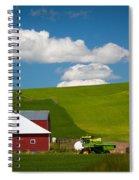Farm Machinery Spiral Notebook