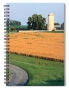 Farm Nr Mountville Lancaster Co Pa Usa Spiral Notebook