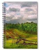Farm - Organic Farming Spiral Notebook
