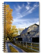 Farm Road Spiral Notebook