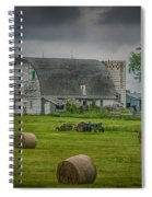 Farm Scene Spiral Notebook