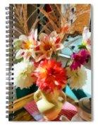 Farm Table Bouquet Spiral Notebook