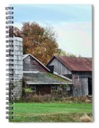 Farm - The Old Barn Spiral Notebook