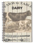 Farm To Table-jp2112 Spiral Notebook