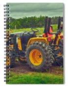 Farm Tractor Spiral Notebook