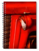Farm - Tractor - The Tractor Spiral Notebook