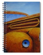 Farm Truck Spiral Notebook