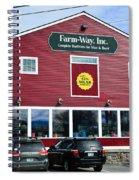 Farm- Way  Www.vermontgear.com Spiral Notebook