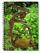 Farm Worker Spiral Notebook