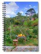 Farmer Maggot Garden Spiral Notebook