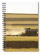 Farmer Working Spiral Notebook