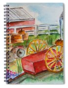 Farmers Backyard Spiral Notebook