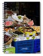 Farmers Market Segovia Spiral Notebook