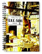 Farmers Market Vendor Spiral Notebook