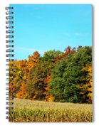 Farmfield Fall Spiral Notebook