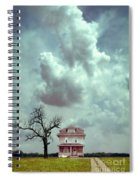 Farmhouse And Tree Spiral Notebook